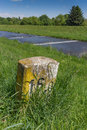 Old Milestone 16 Royalty Free Stock Photo