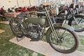 Old military Harley Davidson Royalty Free Stock Photo