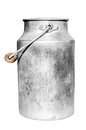 Old milk can. Royalty Free Stock Photo