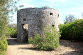 Old mill in Archaeological Parc of Populonia, Italy Stock Photography