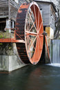 Old Mill in Pigeon Forge Stock Photos