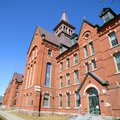 Old mill university of vermont burlington is the oldest building uvm usa Royalty Free Stock Photo