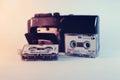 Old mini cassette