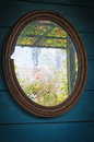 Old mirror Royalty Free Stock Photo