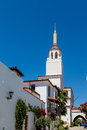 Old Mission Church in Santa Barbara Royalty Free Stock Photo
