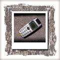 Old mobile one of my very Stock Photography