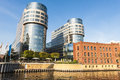 Old and modern architecture on the river spree berlin successfull combination of riverside of in germany Stock Photo