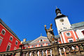 Old monastery building benedictine in broumov czech republic Stock Photo