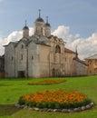 Old monastery in Kirillov Royalty Free Stock Photo