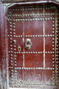 Old Moroccan Door Royalty Free Stock Photos