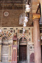 Old mosque in cairo in egypt in africa Royalty Free Stock Photo