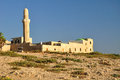 Old mosque at herzlia seashore central israel Royalty Free Stock Photography
