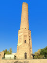 Old mosque the minaret of ancient in erbil Stock Image