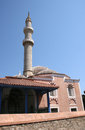 Old mosque in Rhodes Royalty Free Stock Photo