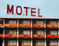 Old Motel Royalty Free Stock Photo