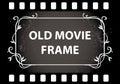 Old movie film