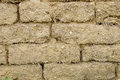 Old mud bricks wall Royalty Free Stock Photo