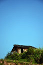 Old mud house in china Stock Photography
