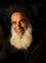 Old muslim man portrait of an berber in marrakech morocco Stock Images