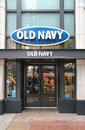 Old navy fashion chicago june store at magnificent mile on june in chicago the magnificent mile is one of most prestigious Stock Image