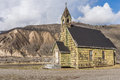 Old Neglected Country Church near Spences Bridge Royalty Free Stock Photo