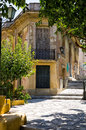 An old neoclassical building in athens greece plaka area Stock Photography