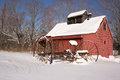 Old New England Sugar House in winter Stock Images