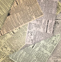 Old newspaper background Stock Photo