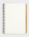 Old notebook Royalty Free Stock Photo