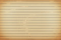 Old notepad paper with horizontal lines background Royalty Free Stock Photo