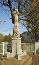 Old Obelisk In Park. Dabrowa T...