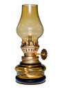 Old oil lamp. Royalty Free Stock Images