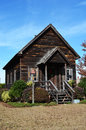 Old One Room School House Stock Photography