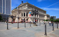 Old Opera (Alte oper) in Frankfurt Stock Images