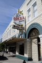 The old opera house arcadia fl in is a key part of historic district of town it now serves as a museum and antique mall Stock Photo