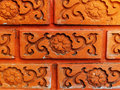 Old orange brick Royalty Free Stock Image