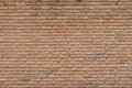 Old orange bricks wall background Royalty Free Stock Image