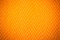 Old orange textile canvas background or texture grunge Stock Photography