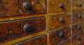 Old Organizer Cabinet Royalty Free Stock Photo