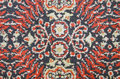 Old ornamental carpet fragment background texture Royalty Free Stock Photography