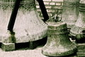 Old orthodox copper church bells, Russia Royalty Free Stock Photo