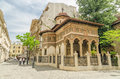 Old orthodox monastery bucharest romania may stavropoleos on may in bucharest romania situated downtown on lipscani street was Stock Photo
