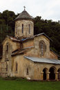 Old orthodox monastery gelati near kutaisi georgia Royalty Free Stock Images