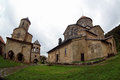 Old orthodox monastery gelati near kutaisi georgia Royalty Free Stock Photos