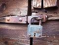 Old padlock Royalty Free Stock Photos