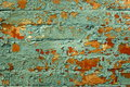 Old painted brick wall. Royalty Free Stock Photography