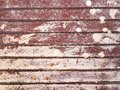 Old painted grunge corroded rusted metal wall texture background. Royalty Free Stock Photo