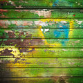 Old painted wood background photo of Royalty Free Stock Images