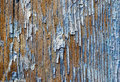 Old painted wooden plank Royalty Free Stock Photo