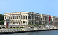Old palace on bosphorus bank Royalty Free Stock Images